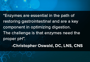 Enzymes are an essential in the path of restoring gastrointestional health