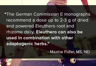 "Eleuthero was previously known as ""Siberian ginseng,"" as it was native to the area where the studies occurred."