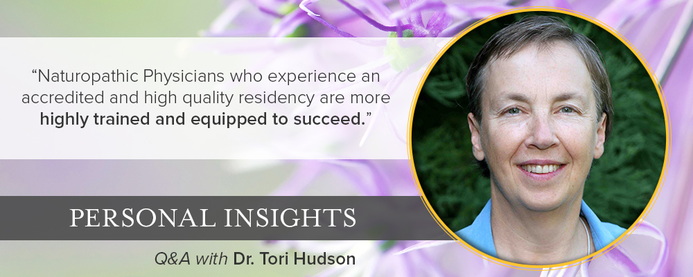 Personal Insights: Q&A with Dr. Tori Hudson