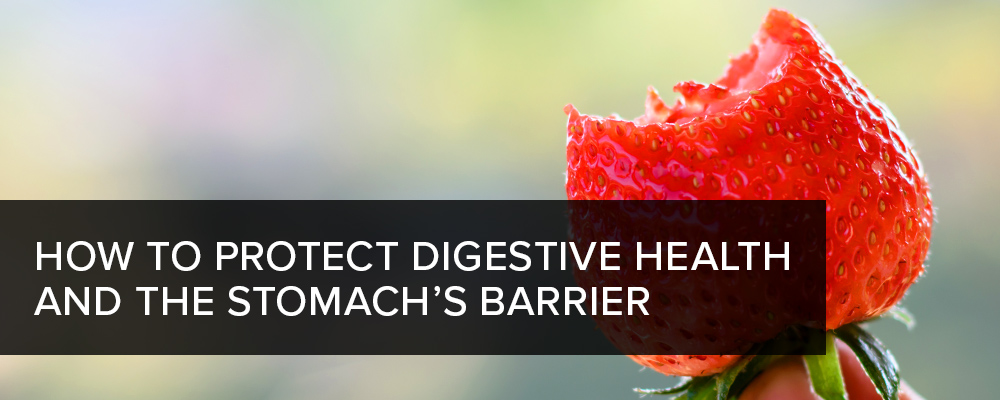 How to Protect Digestive Health and the Stomach's Barrier