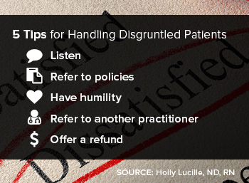 5 Tips for Handling Disgruntled Patients Checklist
