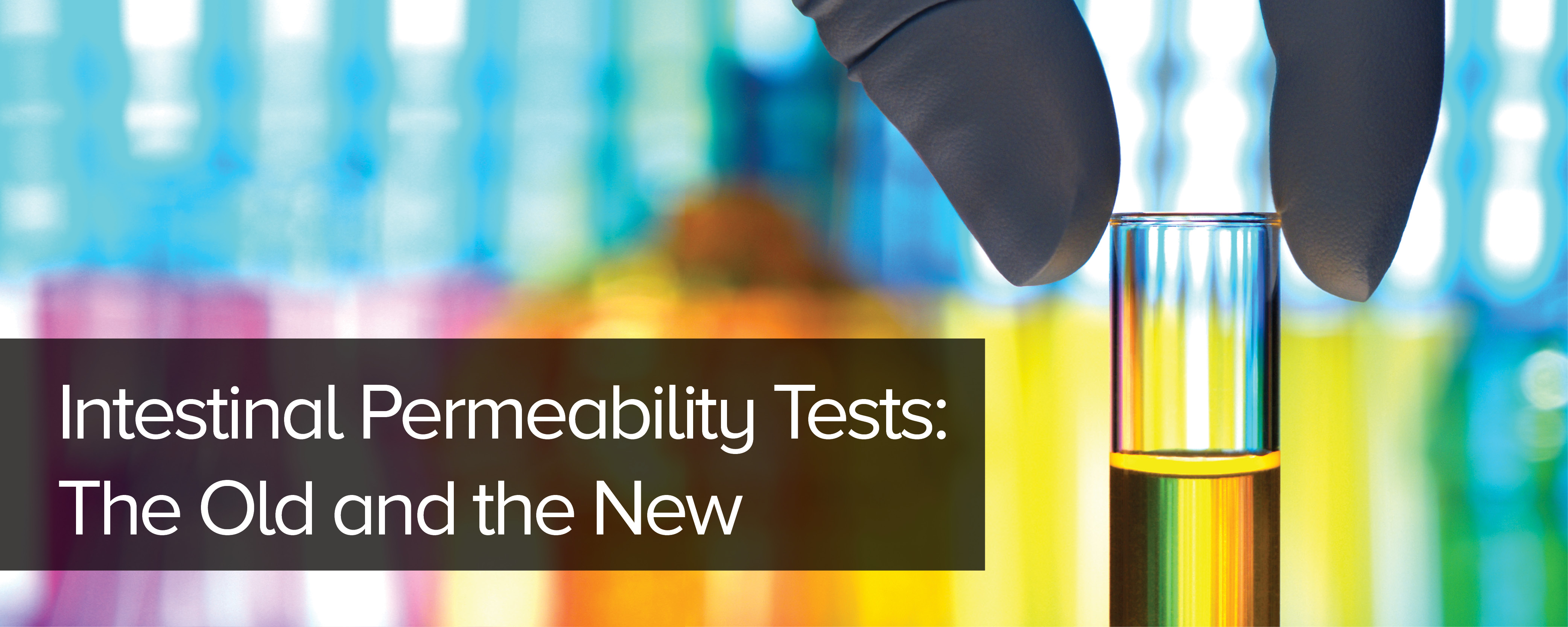 Intestinal Permeability Tests: The Old and the New