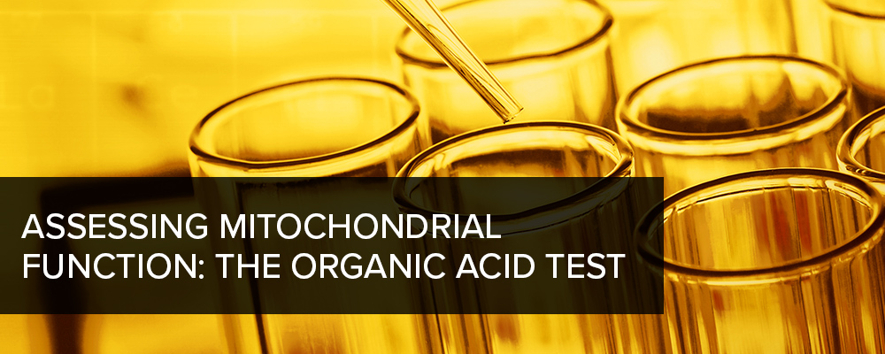 Assessing Mitochondrial Function: the Organic Acid Test