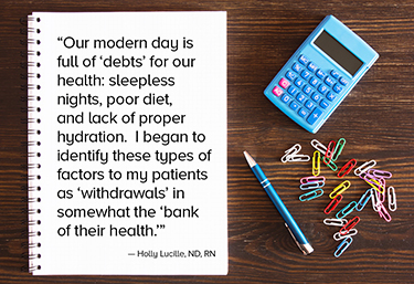 Our modern day is full of debts of our health.