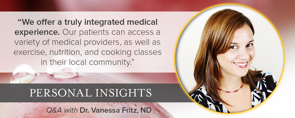 Personal Insights: Q&A with Dr. Vanessa Fritz, Acupuncturist