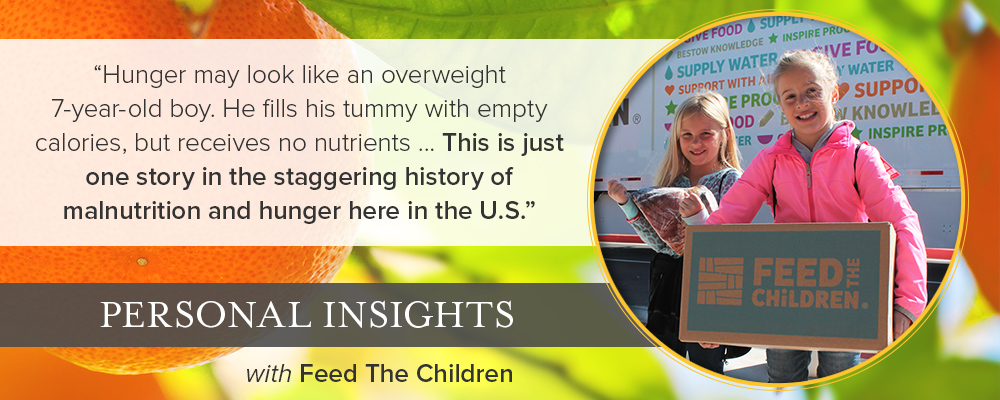 Personal Insights: Q&A with Feed the Children
