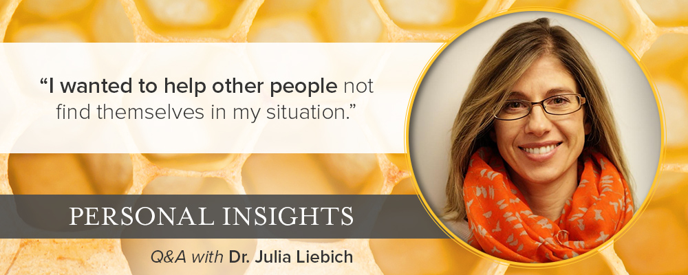 Personal Insights: Q&A with Dr. Julia Liebich