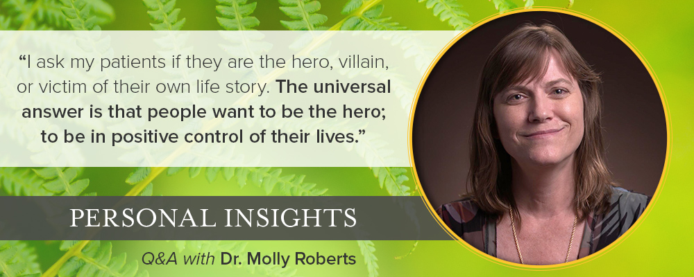 Personal Insights: Q&A with Dr. Molly Roberts