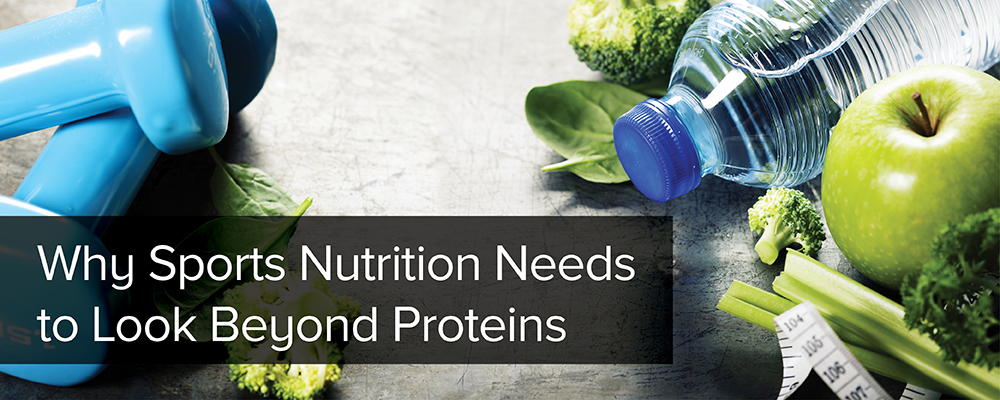 Why Sports Nutrition Needs to Look Beyond Proteins