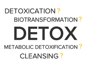 Defining Detox - the differences between detoxication, biotransformation, and metabolic detoxification