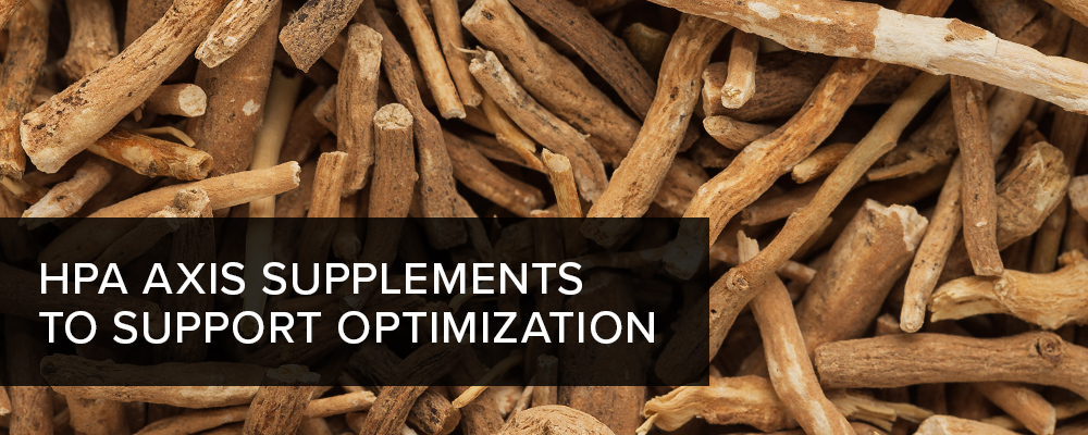 HPA Axis Supplements To Support Optimization