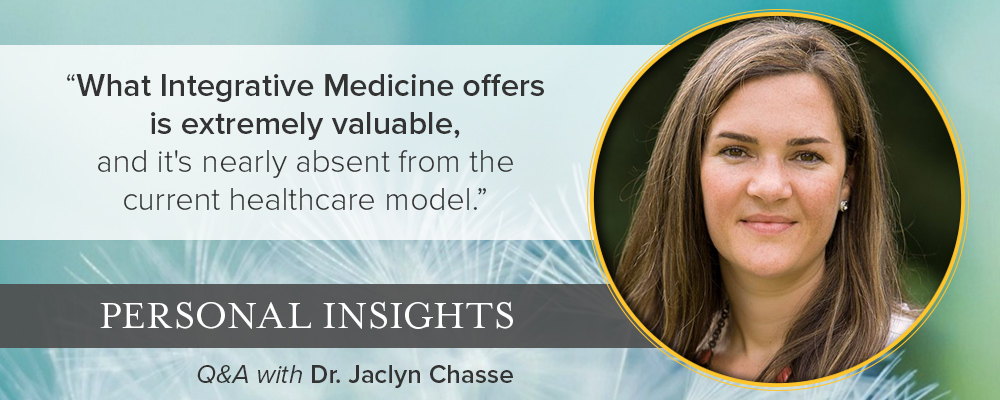 Personal Insights: Q & A with Dr. Jaclyn Chasse