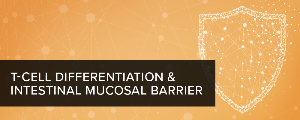 T-Cell Differentiation and Intestinal Mucosal Barrier Function